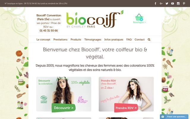 Biocoiff 39 salon de coiffure bio ktalogue bio for Salon de coiffure bio paris