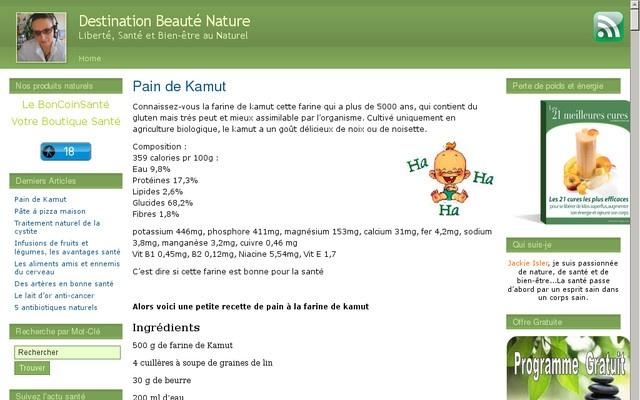 Mon blog beauté nature