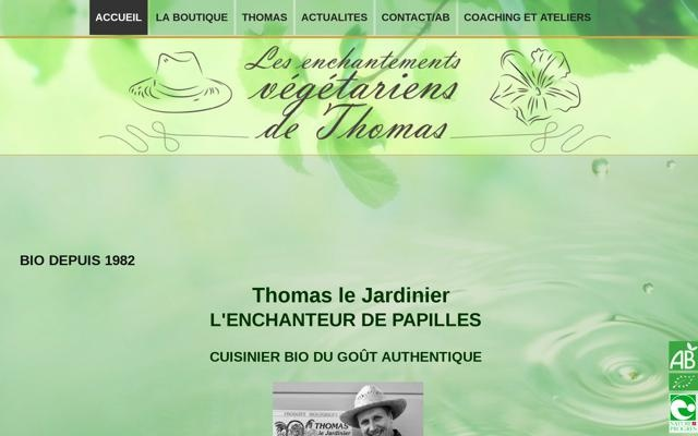 Les enchantements végétariens de Thomas