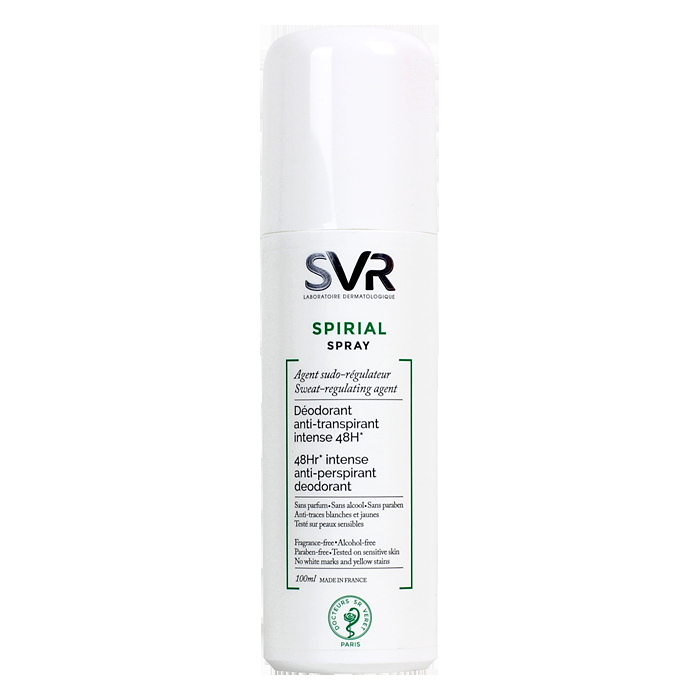 svr spirial d odorant anti transpirant spray 100ml par svr ktalogue bio. Black Bedroom Furniture Sets. Home Design Ideas